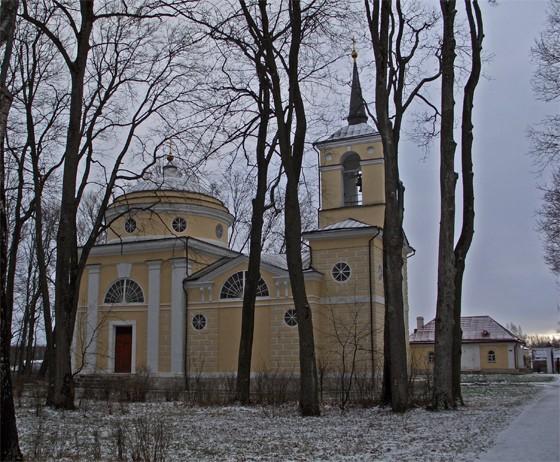 Церковь Спаса Преображения, Спасское-Лутовиново