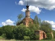 Старое Быково, урочище. Троицы Живоначальной, церковь