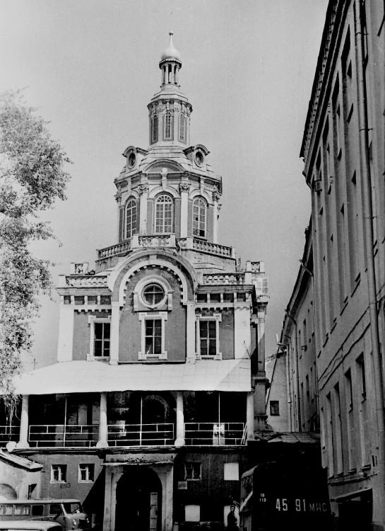 Заиконоспасский монастырь. Собор Спаса Нерукотворного Образа, Москва