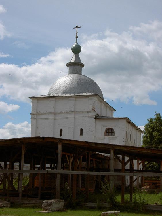 Лужецкий Ферапонтов монастырь. Надвратная церковь Спаса Преображения, Можайск