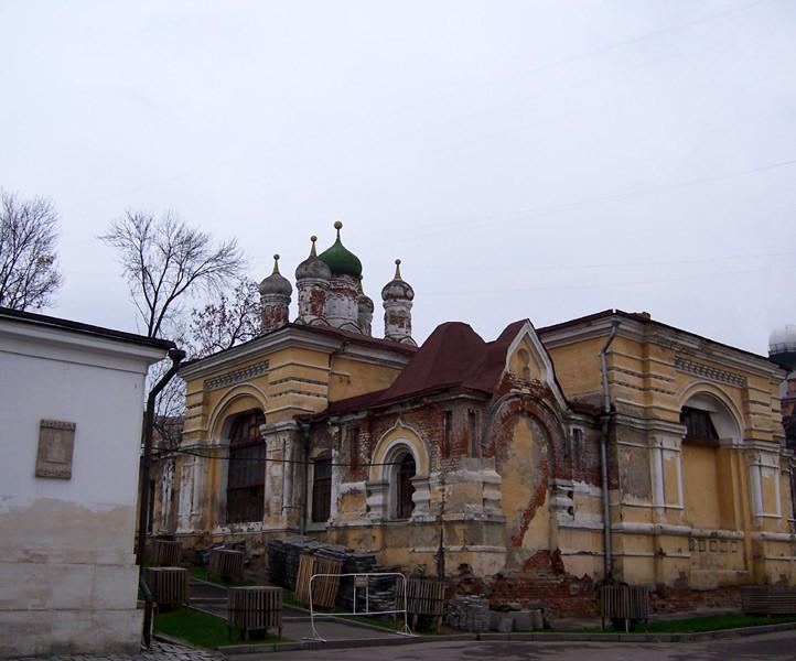 Богородице-Рождественский монастырь. Церковь Иоанна Златоуста, Москва