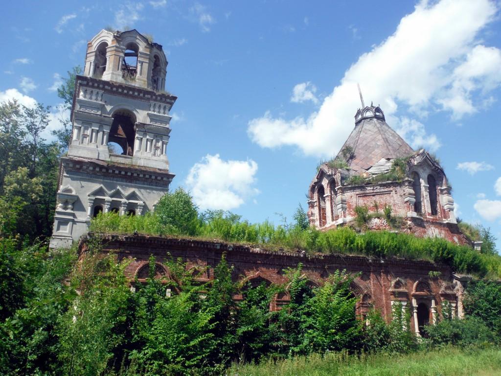 Церковь Димитрия Ростовского, Глухово (Высоковское сельское поселение)