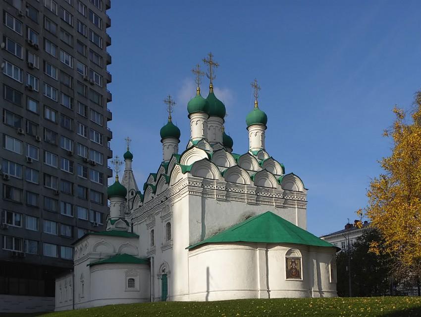 Церковь Симеона Столпника (Введения во храм Пресвятой Богородицы) на Поварской, Москва