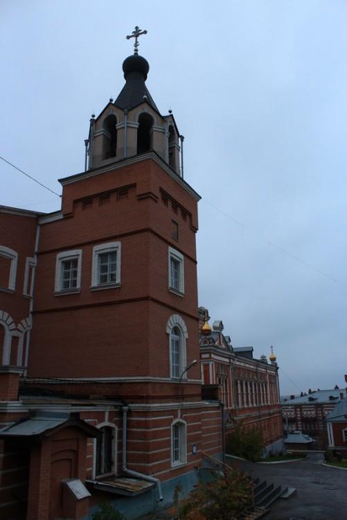 Самарская область, Самара, город, Самара. Иверский женский монастырь, фотография. фасады, Монастырская звонница