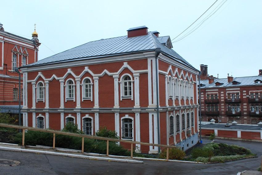 Самарская область, Самара, город, Самара. Иверский женский монастырь, фотография. фасады, Дом игуменьи