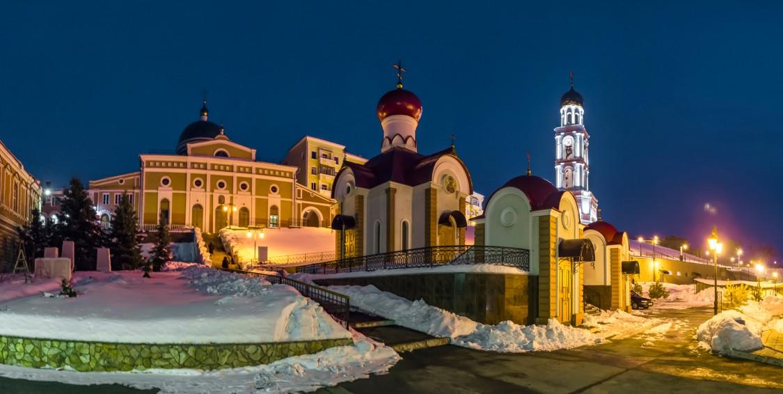 Самарская область, Самара, город, Самара. Иверский женский монастырь, фотография. художественные фотографии