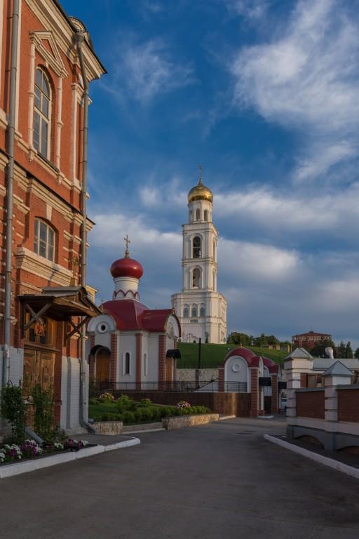 Самарская область, Самара, город, Самара. Иверский женский монастырь, фотография. фасады