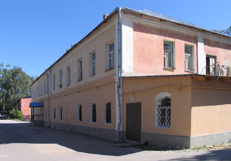 Калужская область, Калуга, город, Калуга. Лаврентьев монастырь, фотография. фасады, Сохранившийся архиерейский дом.
