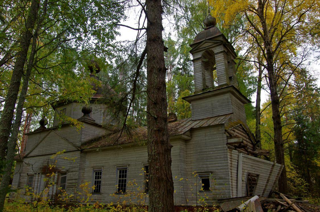 Церковь Смоленской иконы Божией Матери, Малая Шалга