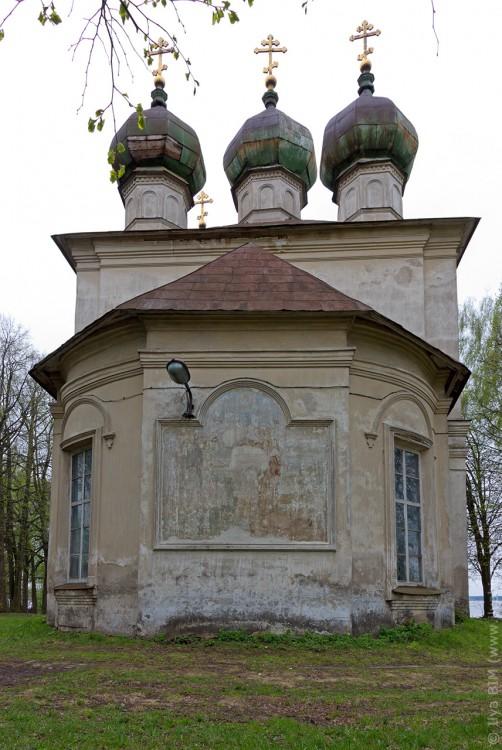 Тверская область, Калязинский район, Калязин. Церковь Богоявления Господня, фотография. фасады