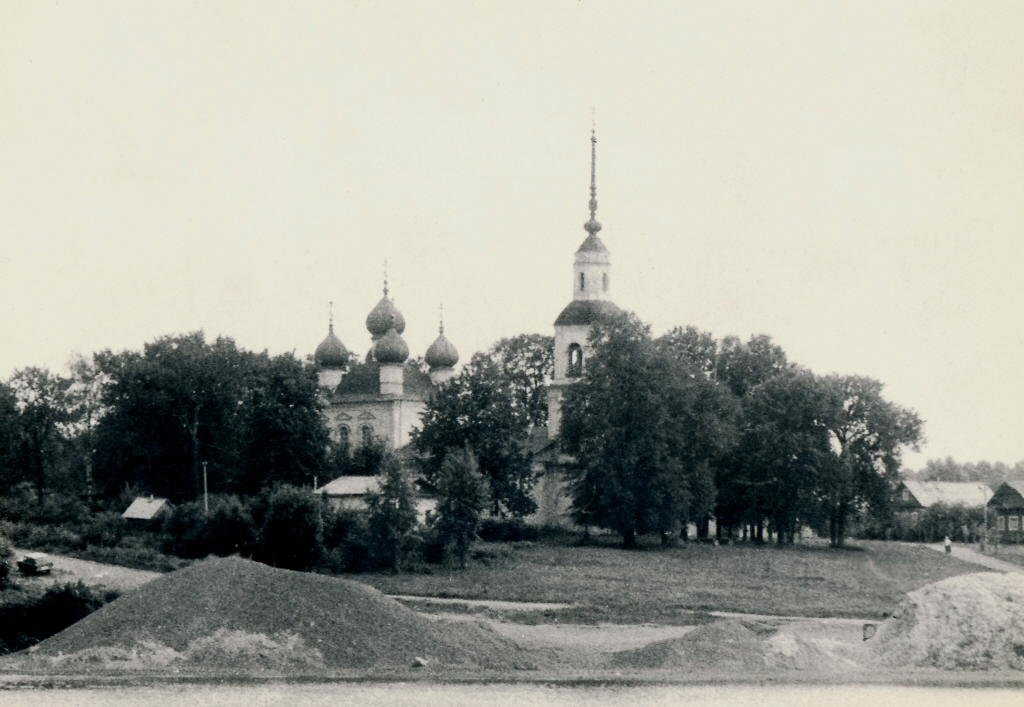 Тверская область, Калязинский район, Калязин. Церковь Богоявления Господня, фотография. архивная фотография, Архивное фото.