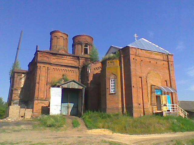 Церковь Покрова Пресвятой Богородицы, Иванырс