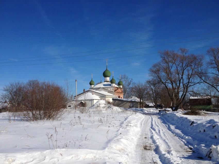 Церковь Ярославских Чудотворцев-Сопелки-Ярославский район-Ярославская область