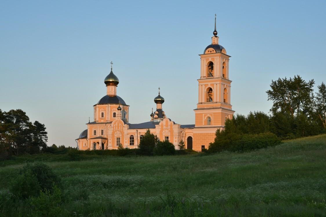 Тверская область, Селижаровский район, Оковцы. Церковь Смоленской иконы Божией Матери