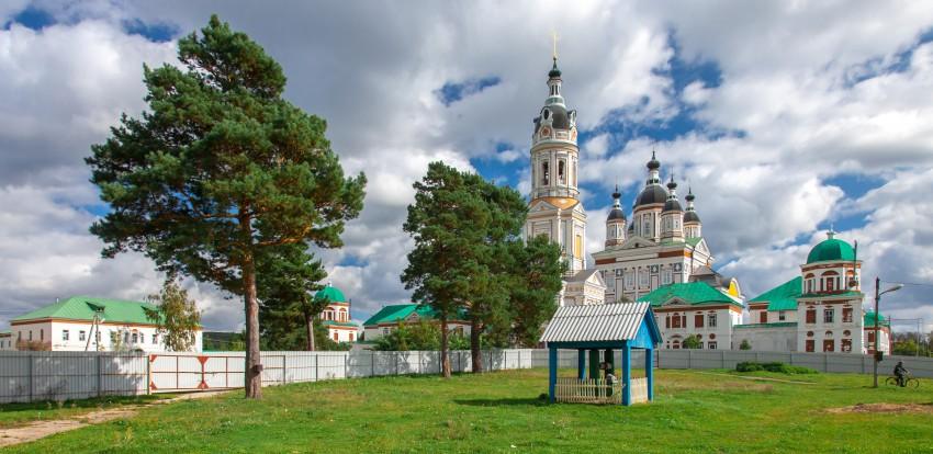 Троице-Сканов женский монастырь, Сканово