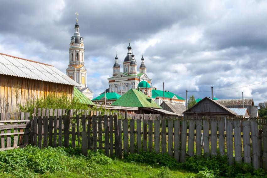 Пензенская область, Наровчатский район, Сканово. Троице-Сканов женский монастырь, фотография. фасады