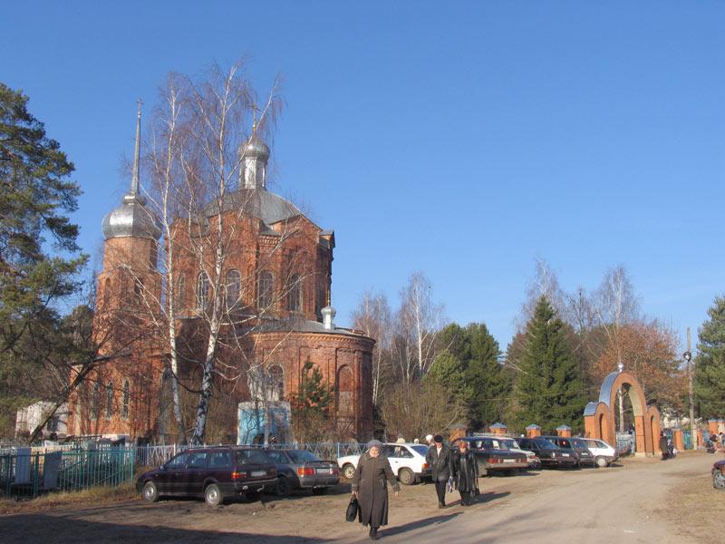 Церковь Сергия Радонежского, Людиново