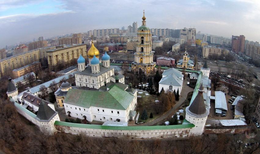 Новоспасский монастырь-Москва-Центральный административный округ (ЦАО)-г. Москва