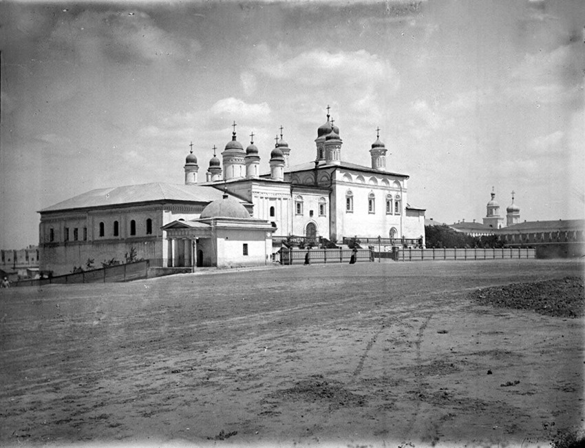 Кремль. Троицкий монастырь, Астрахань