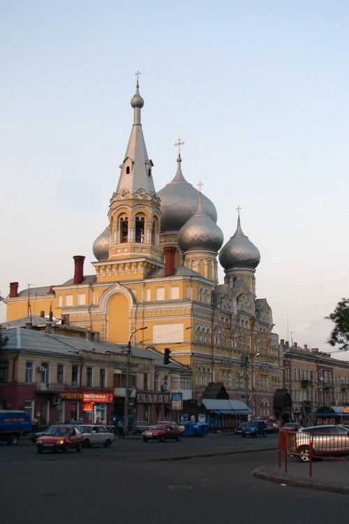 Украина, Одесская область, Одесса, город, Одесса. Пантелеимоновский мужской монастырь, фотография. фасады