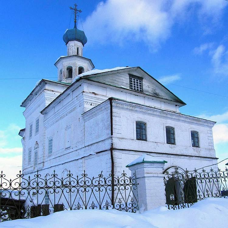 Чердынский Иоанно-Богословский мужской монастырь. Церковь Иоанна Богослова, Чердынь