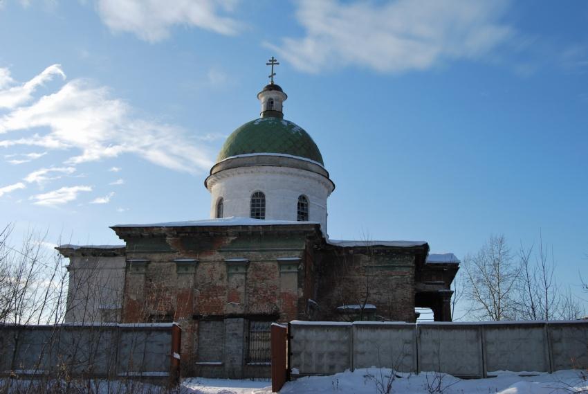 Свердловская область, Нижняя Салда (ГО Нижняя Салда), Нижняя Салда. Церковь Николая Чудотворца, фотография. фасады