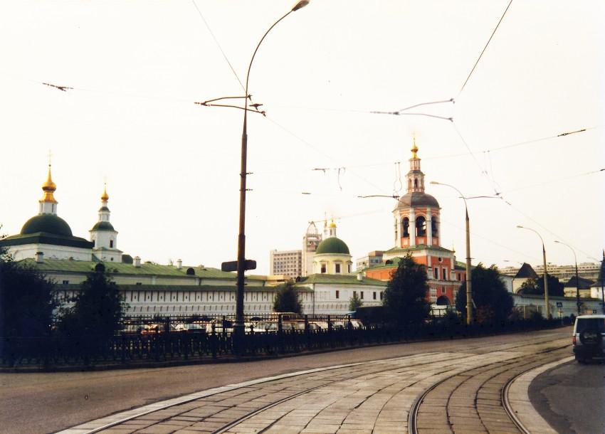 Данилов мужской монастырь, Москва