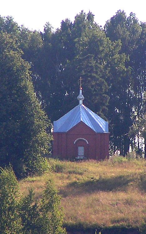 Костромская область, Красносельский район, Асташево. Неизвестная часовня, фотография. фасады
