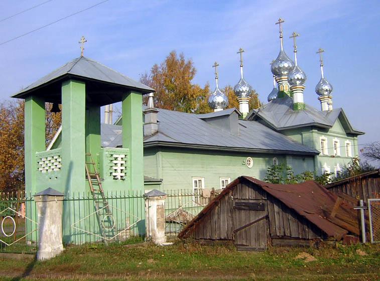 Церковь Покрова Пресвятой Богородицы, Стрельниково