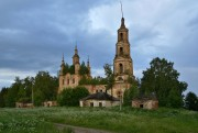 Церковь Троицы Живоначальной - Зашугомье - Солигаличский район - Костромская область