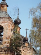 Церковь Владимирской иконы Божией Матери - Озорниково, урочище - Чухломский район - Костромская область