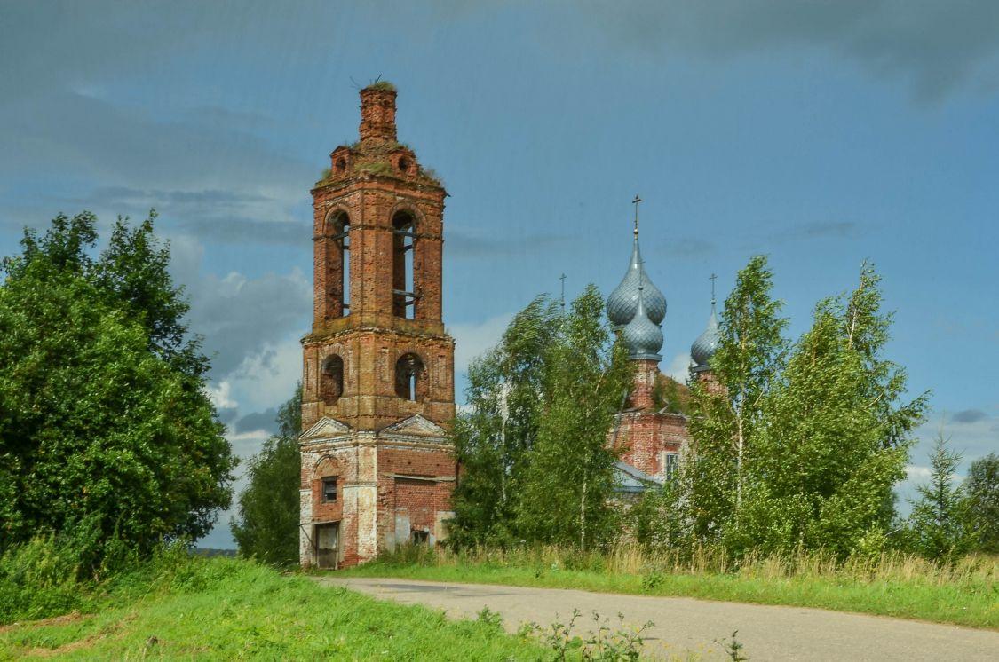 Церковь Воскресения Христова, Горки-Чириковы