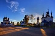 Ансамбль Воскресенской и Успенской церквей и Троицкого собора - Лух - Лухский район - Ивановская область