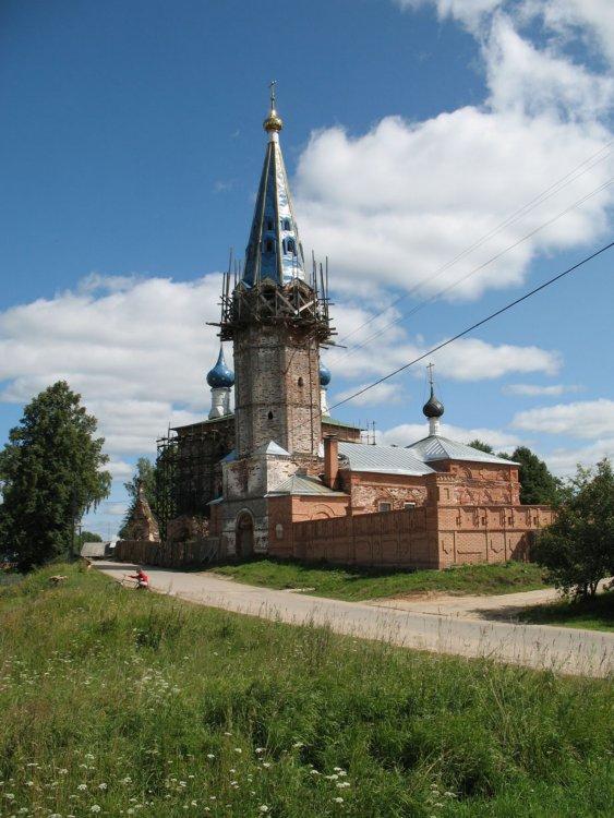 Церковь Казанской иконы Божией Матери-Дунилово-Шуйский район-Ивановская область