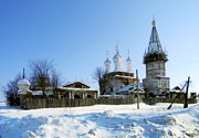 Дунилово. Храмовый комплекс. Церкви Покрова Пресвятой Богородицы и Всех Святых