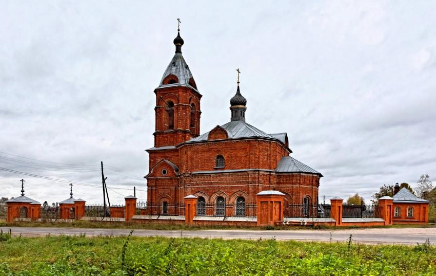 Церковь Воздвижения Креста Господня-Дунилово-Шуйский район-Ивановская область