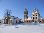 Введеньё. Храмовый комплекс. Церкви Вознесения Господня и Иоанна Богослова