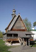 Музей деревянного зодчества. Церковь Николая Чудотворца из с. Глотово - Суздаль - Суздальский район - Владимирская область