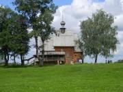 Суздаль. Музей деревянного зодчества. Церковь Николая Чудотворца из с. Глотово