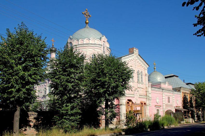 Кировская область, Слободской район, Слободской. Христорождественский монастырь, фотография. фасады