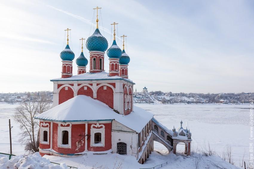 Церковь Казанской иконы Божией Матери и Спаса Преображения, Тутаев