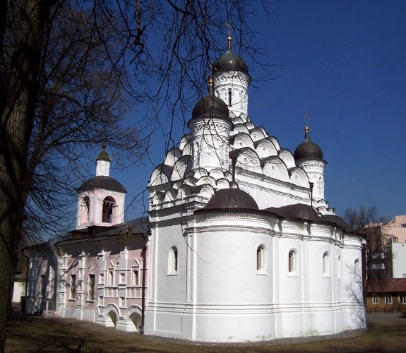 Церковь Троицы Живоначальной в Хорошёве, РњРѕСЃРєРІР°