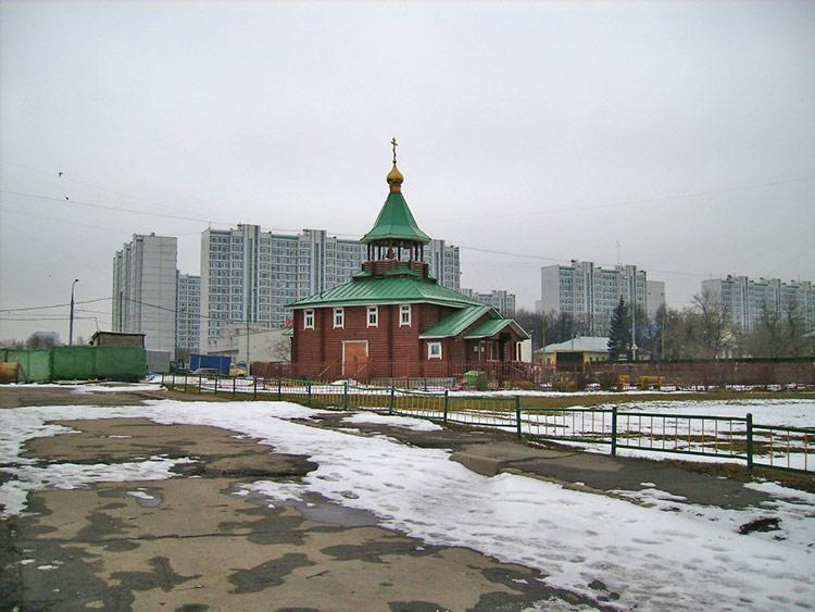 Церковь Покрова Пресвятой Богородицы в Раменках, Москва