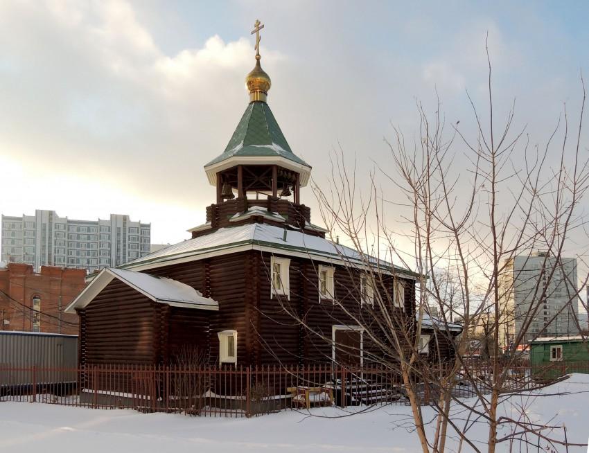 Церковь Покрова Пресвятой Богородицы в Раменках, РњРѕСЃРєРІР°