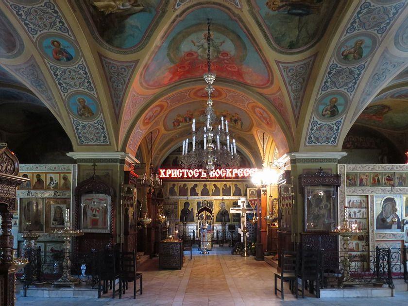 Церковь Рождества Пресвятой Богородицы в Старом Симонове, Москва