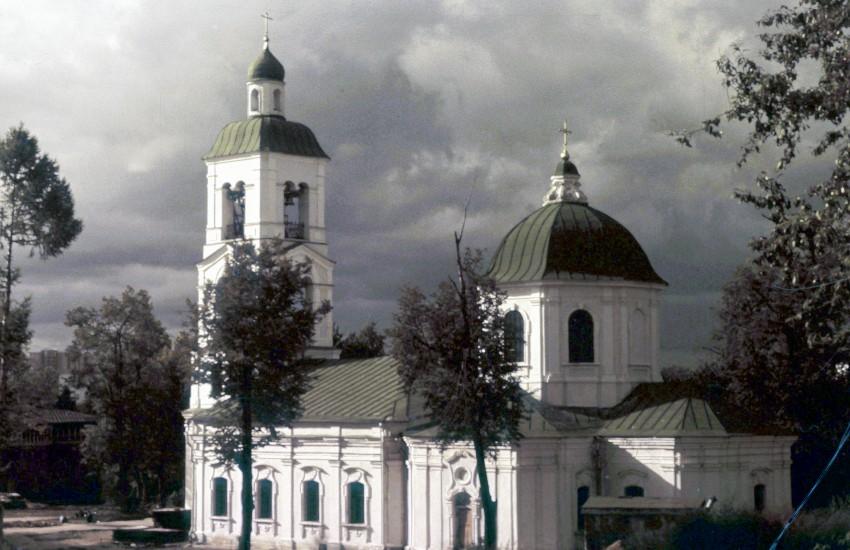 Церковь иконы Божией Матери