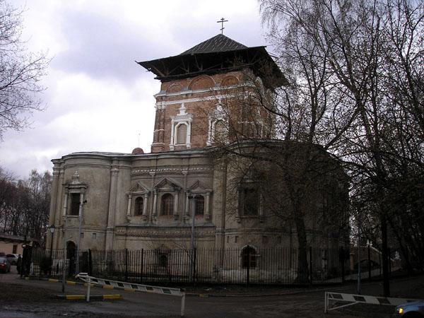 Симонов мужской монастырь. Церковь Тихвинской иконы Божией Матери, Москва