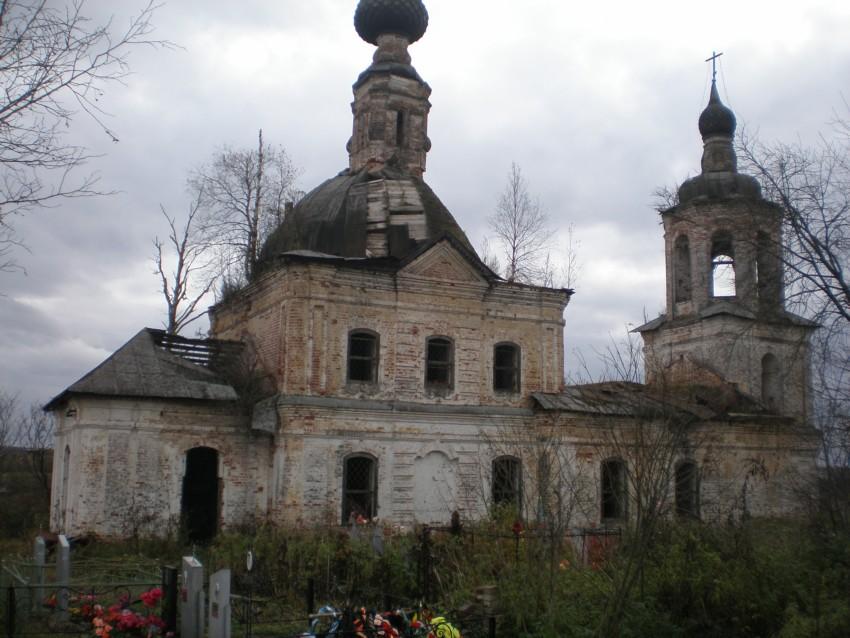 Церковь Спаса Нерукотворного Образа, Михаил-Архангел