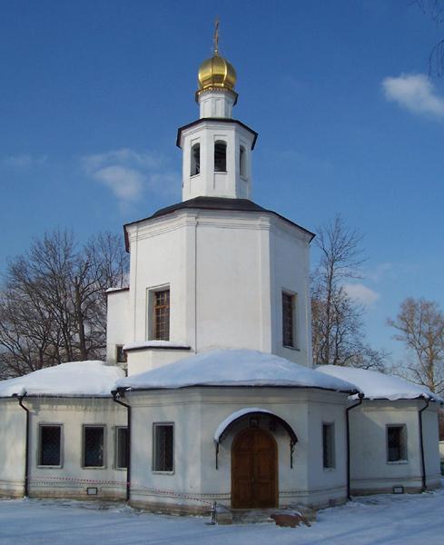 Церковь Спаса Нерукотворного Образа в Гирееве, Москва
