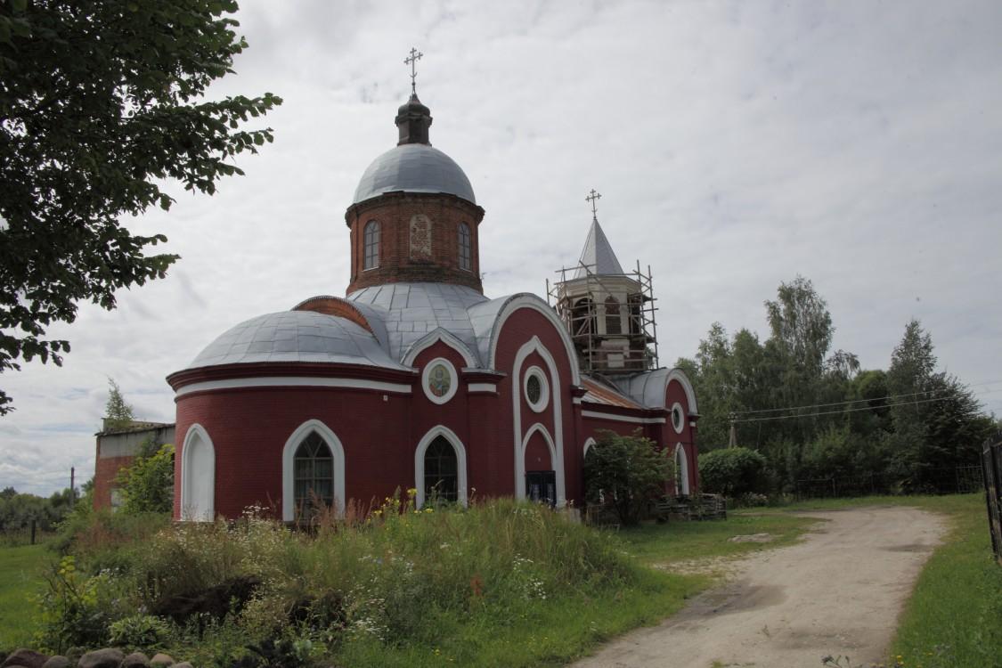 Калужская область, Дзержинский район, Фролово. Церковь Петра и Павла, фотография.